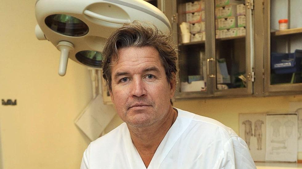 Jan Lapins, hudläkare vid Karolinska universitetssjukhuset.