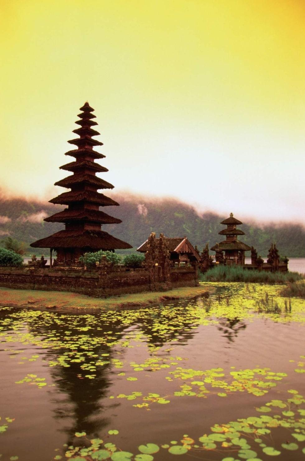 Paradisögruppen Bali tillhör Indonesien.