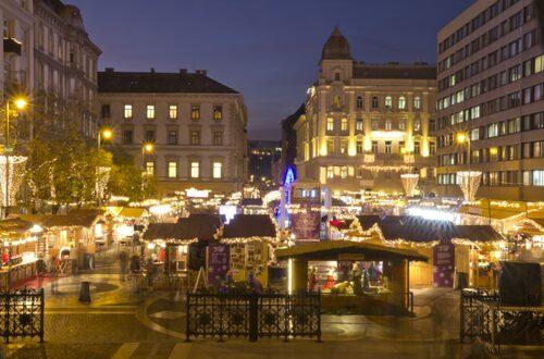 Budapests julmarknad har röstats fram som Europas näst bästa.