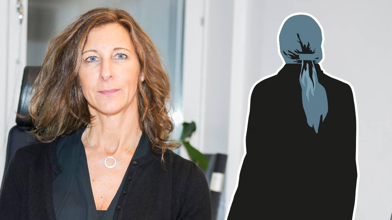 Kvinnan om hoten: Kan inte synas offentligt