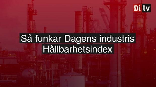 Så funkar Dagens industris Hållbarhetsindex