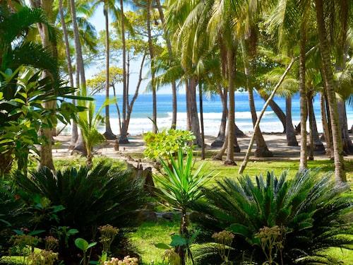 Santa Teresa är ett av jordens paradis med utsikt mot det glittrande havet.