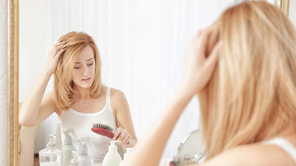 Stress kan vara anledningen till att du tappar hår