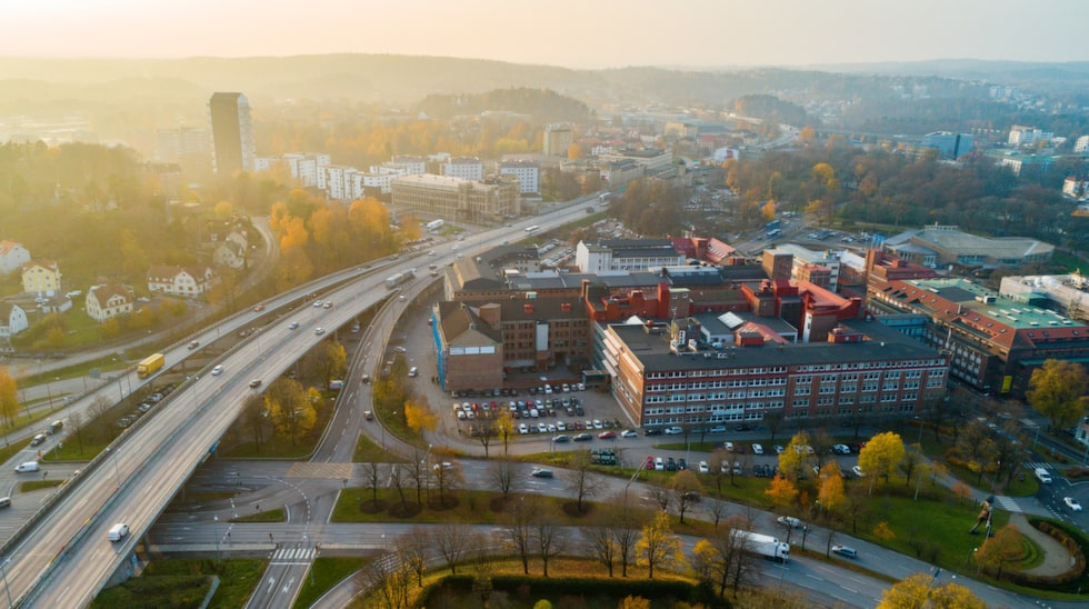 Borås är känt som en av landets gråaste och regnigaste städer.