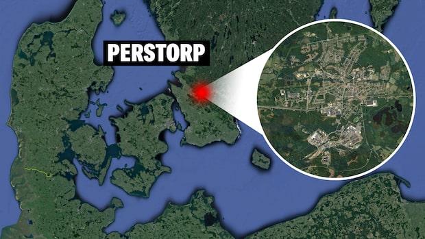 """Bro rasade i Perstorp: """"Hela bron var av"""""""