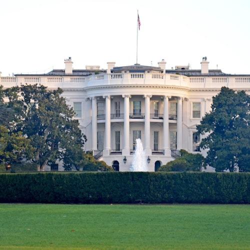 Vita huset byggdes under George Washingtons tid i slutet av 1700-talet.
