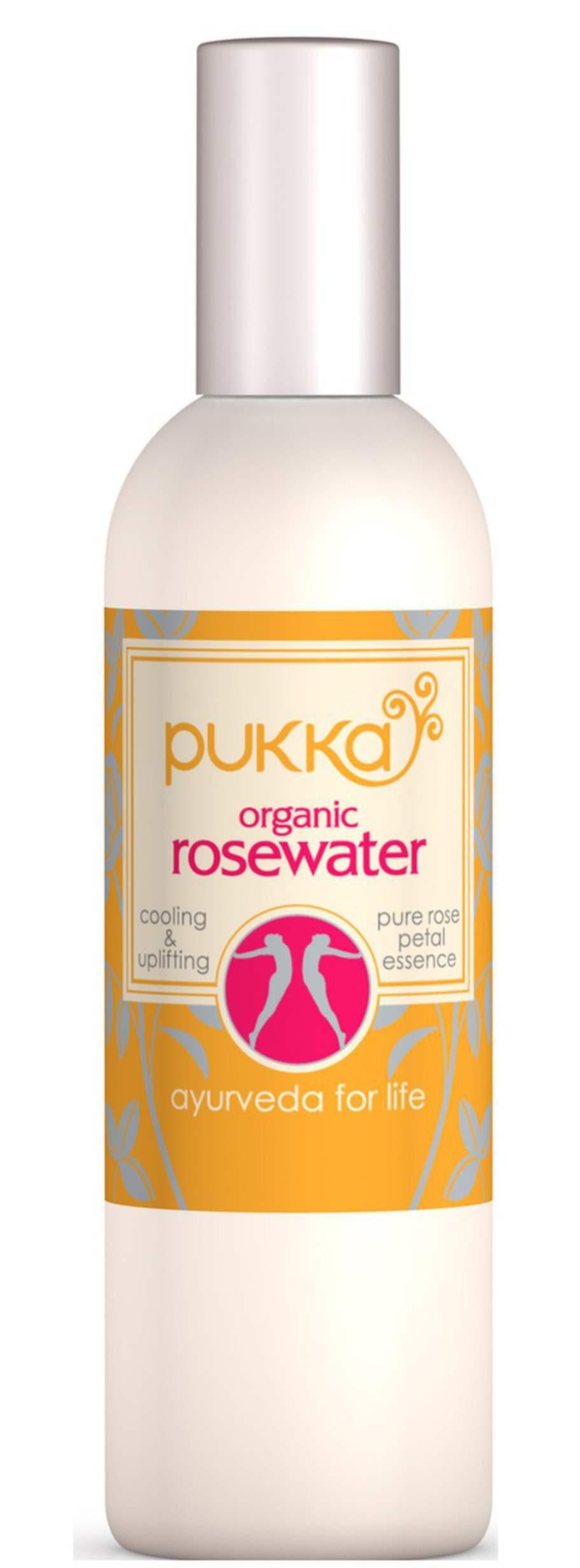 Mer rosor!<br>Destillerat vatten från rosor är underbart att spreja i ansiktet. Huden blir genast uppfriskad. Funkar lika bra i ansiktet, på kroppen som i håret! Pukka, Rose water, 100 ml, 125 kronor på bodystore.se