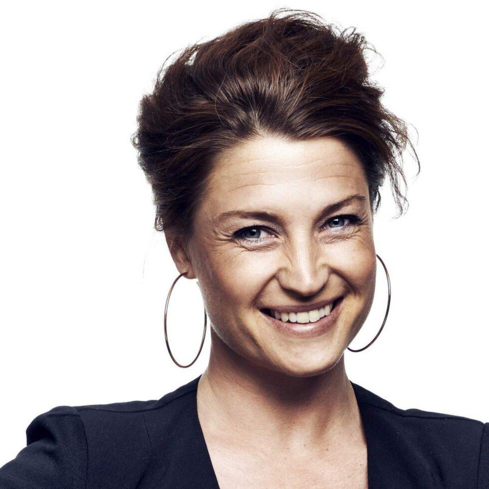 Maria Celin är inredaren och programledaren som bloggar hos Leva & Bo. Hemma hos henne är det mest svart och vitt.