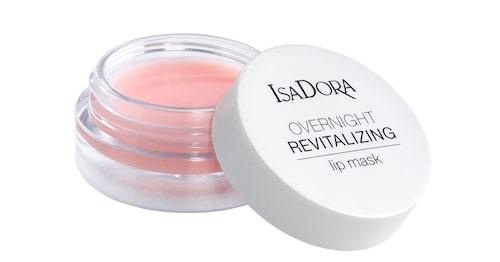 Näringsgivande nattmask för läpparna, Isadora Overnight revitalizing lip mask