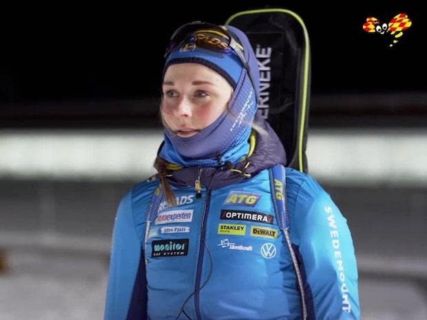 """Stina Nilsson: """"Det är en ganska kul resa, jag är jättespänd"""""""