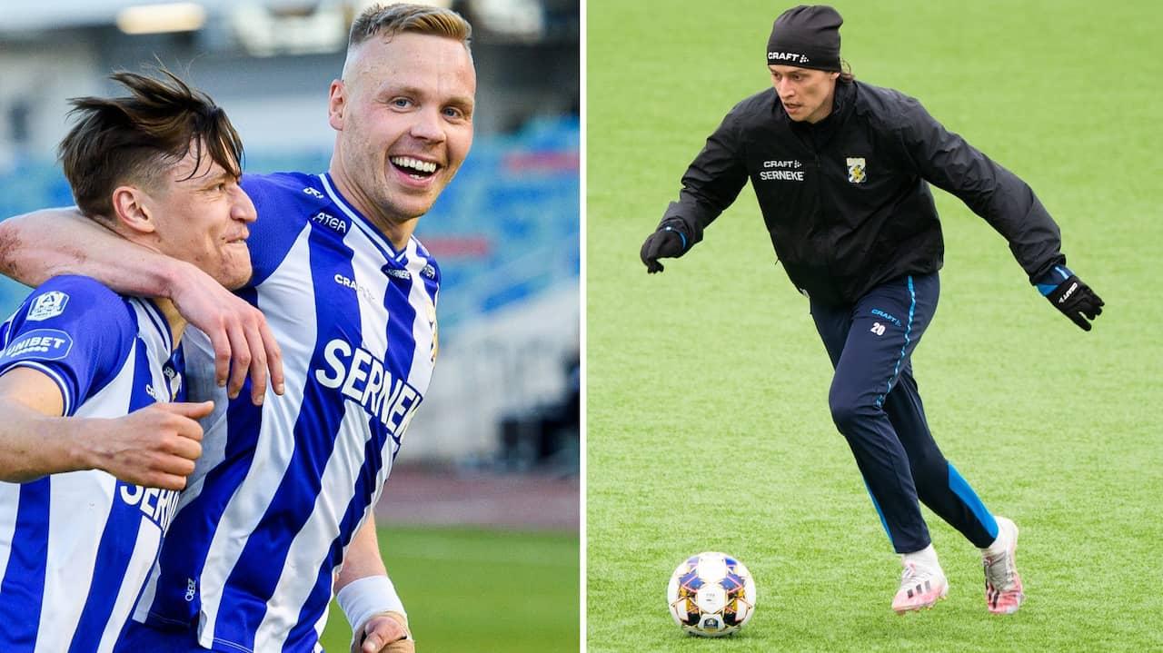 Sänkte AIK med två mål – klev av Blåvitts träning
