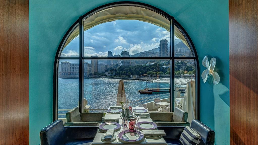 På Elsa i Monte Carlo kan du äta ekologiskt.