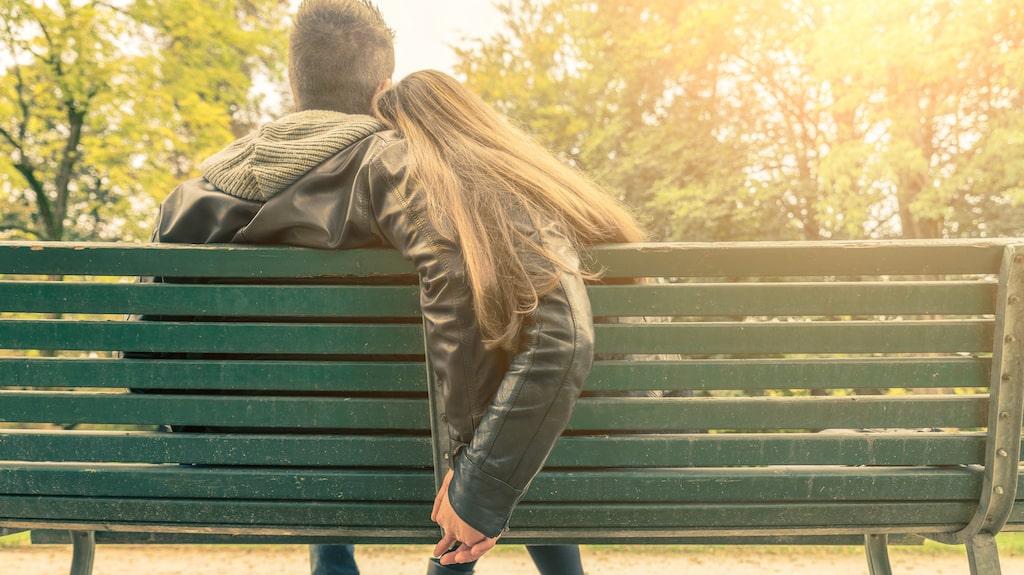 När de sågs kunde hon hålla hand och kyssas, men sen blev hon otillgänglig.