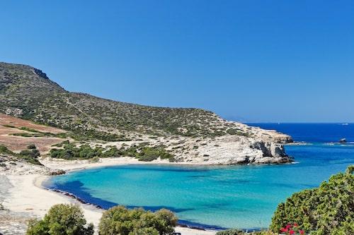 Livadia-stranden på Antiparos.