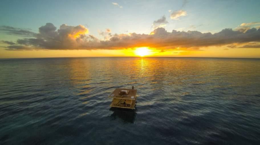Hotellkomplexet Manta Resort ligger på ön Pemba utanför Tanzania - och strax norr om Zanzibar.