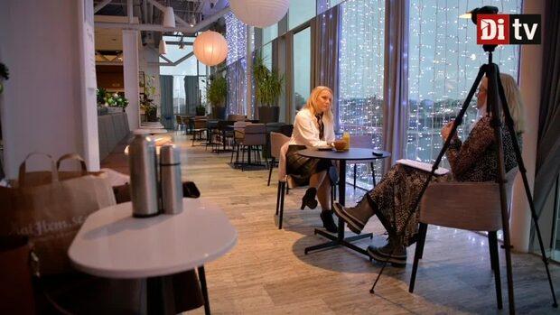 """Frukost med Carina Bergfeldt: """"Jag har fått två av de tyngsta jobben på SVT"""""""