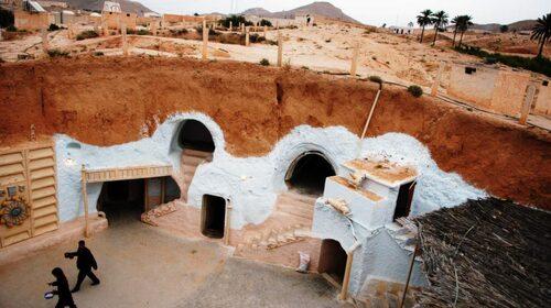 Berberstaden användes i den fosta Star Wars-filmen.