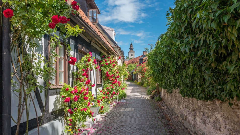 Amerikanska resemagasinet Condé Nast Traveler hyllar Visby för stadens pannkakor.