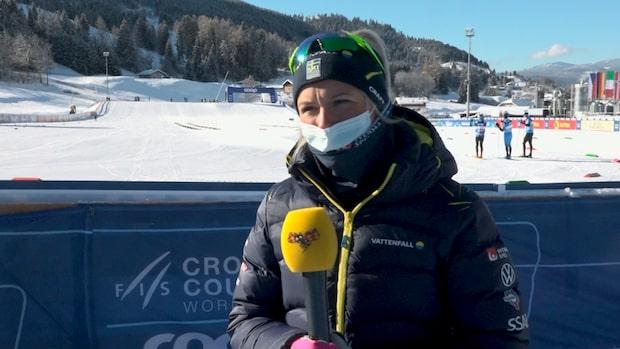"""Frida Karlsson om skadan: """"Krampar ihop hela vägen upp"""""""