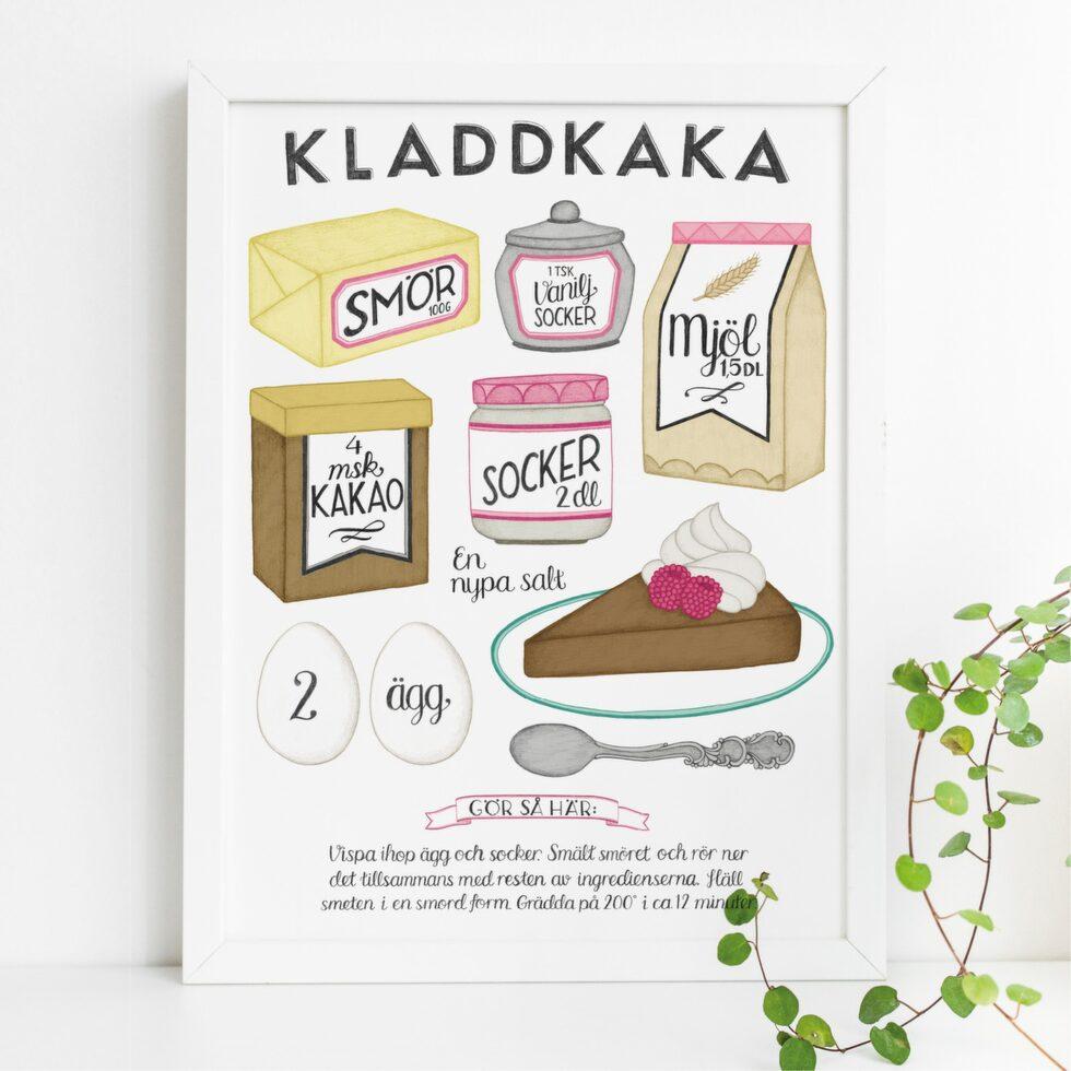 Äntligen i LEVA&BO:s webbutik! Charmiga prints med recept från Tovelisa. Välj mellan flera motiv i både färg och svartvitt. Klicka på plustecknet i bilden för att lägga direkt i varukorgen. Välkommen till LEVA&BO Shopping!