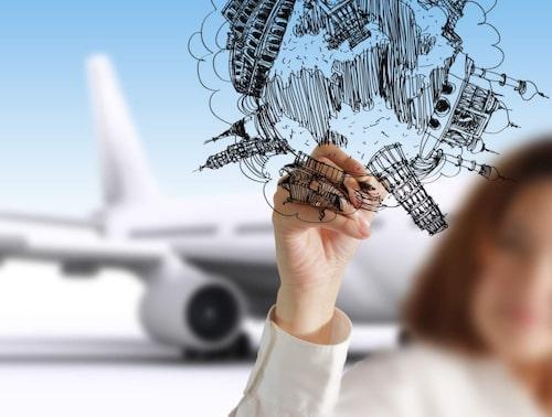 Kolla priser på flyg på jämförelsesajter