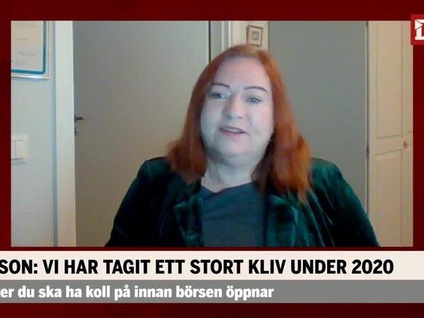 """Agnetha Jönsson om Avanza: """"Gör väldigt mycket rätt"""""""