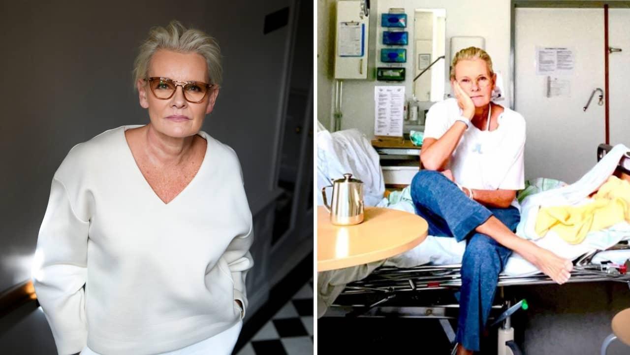 """Eva Dahlgren hemma från sjukhuset: """"Tack alla"""""""