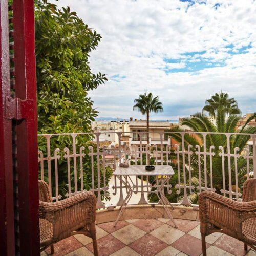 Hostal Coron är ett charmigt pensionat halvtimmen från Palma.