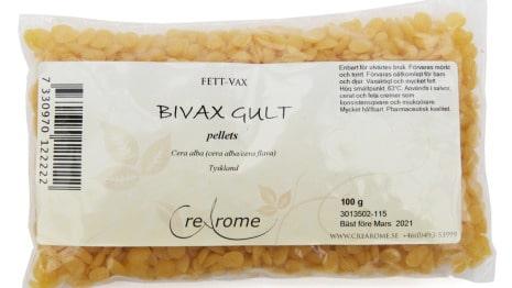 Bivax-pellets är ytterligare en ingrediens till din egen hemmagjorda mascara.