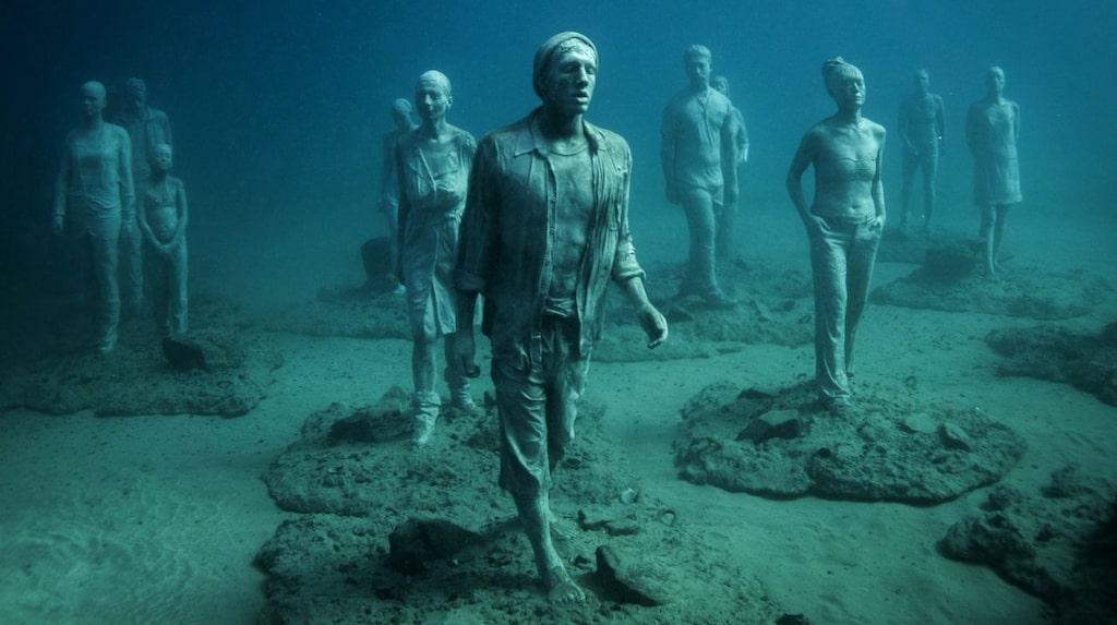 Efter tre års arbete invigdes det nya undervattenmuseet i vattnet på Lanzarotes sydkust officiellt i förra veckan.