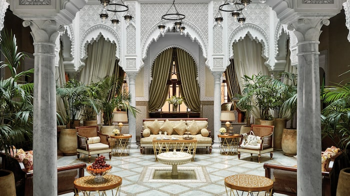 Royal Mansour figurerade i BBC:s tv-serie om världens sex mest extraordinära hotell för ett år sedan.