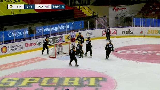 Highlights: Samuel Ersson stoppade många av Oskarshamns målchanser