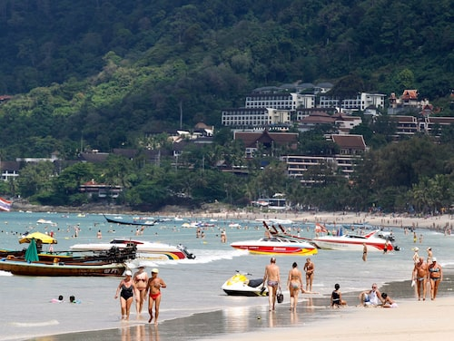 Patong beach i Phuket.