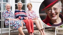 Drottning Margrethes fina återförening med systrarna