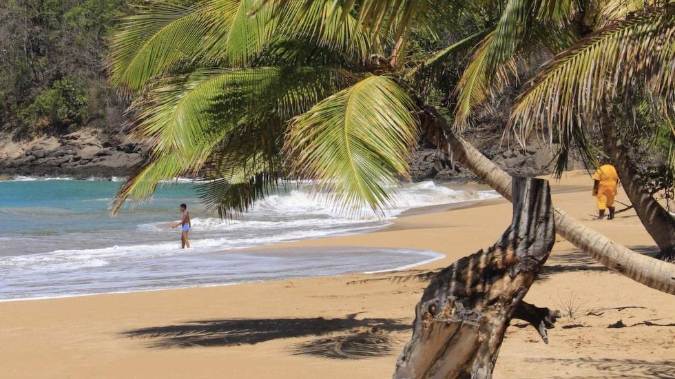 Med stränder som denna, är det ingen som kan säga annat än att detta är en paradisö.