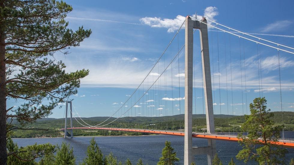 Höga kusten-bron – Sveriges egen Golden Gate.