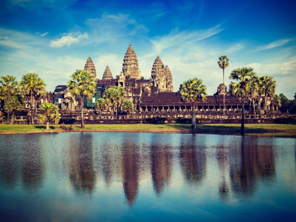 Angkor Wat, Siem Reap, Kambodja.