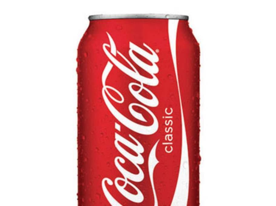 En burk Coca Cola, 7 tsk.