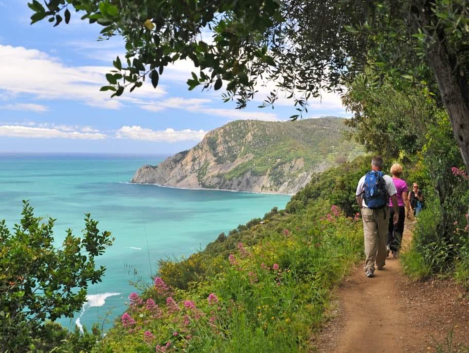 Sentiero Azzurro i Ligurien räknas som en av Italiens vackraste vandringsleder.