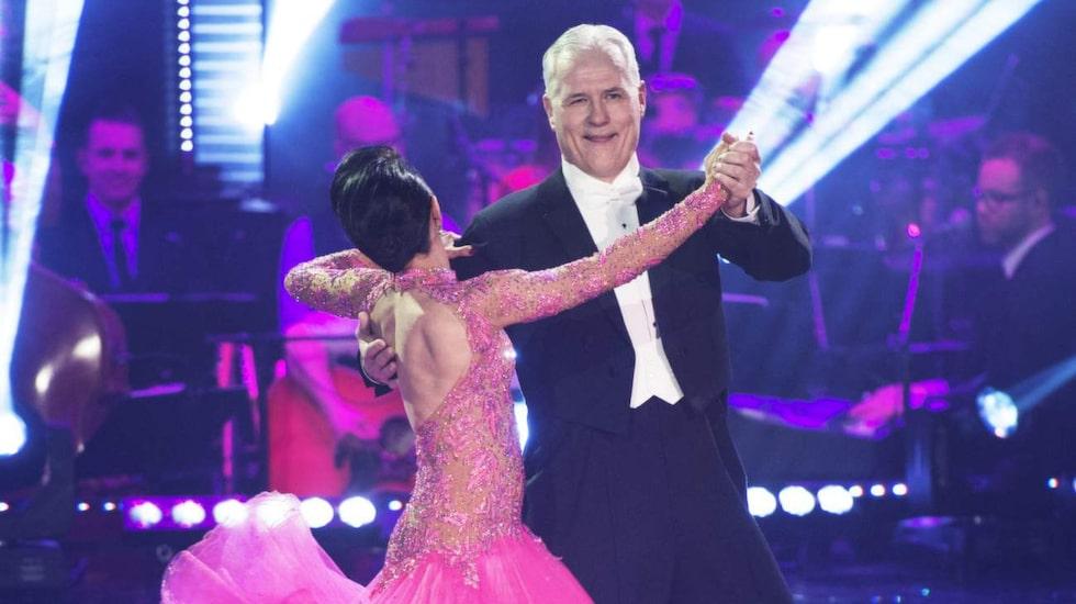 Let's Dance. Glenn Hysén och Jeanette Carlsson från 2014. Benjamin Wahlgren blev den som tog hem priset.