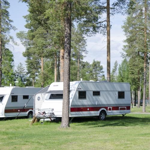 Ansia Camping i Lycksele passar för barnfamiljer.