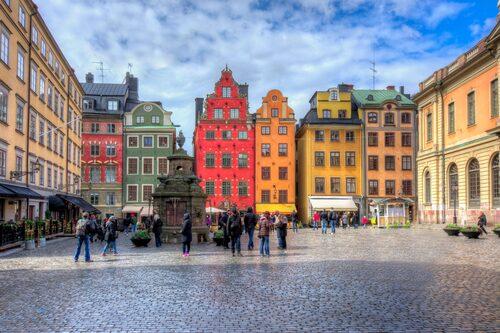 8 och 9 november 1520 avrättades 82 personer på Stortorget i Gamla stan.