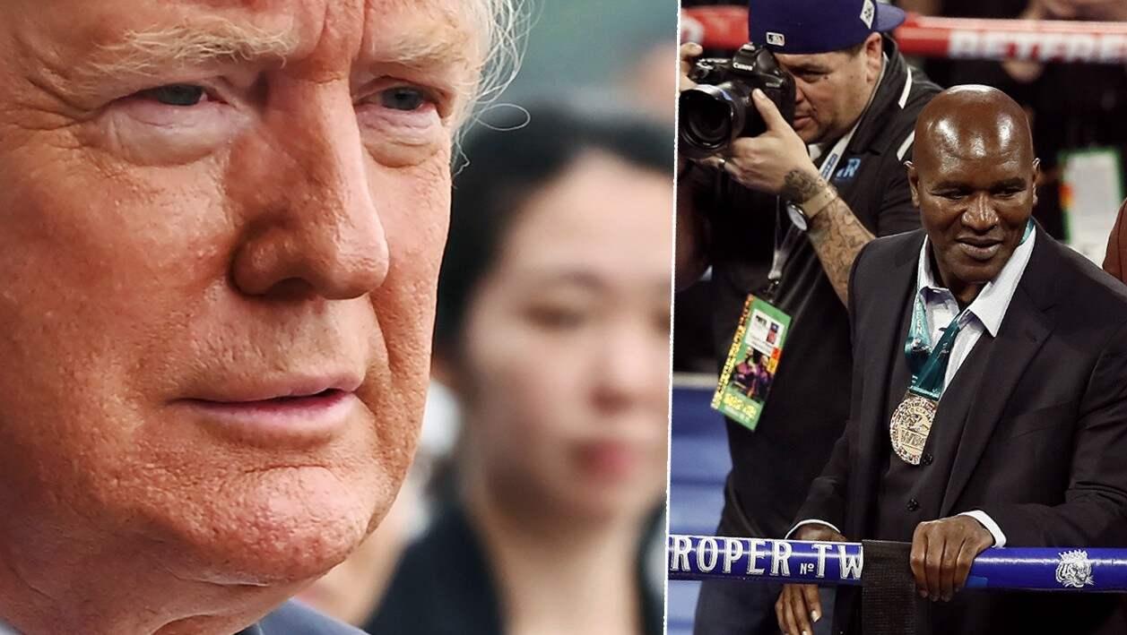 Donald Trump gör sin debut som kommentator under helgens