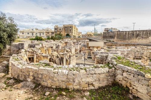 Historien är aldrig långt borta på Malta.