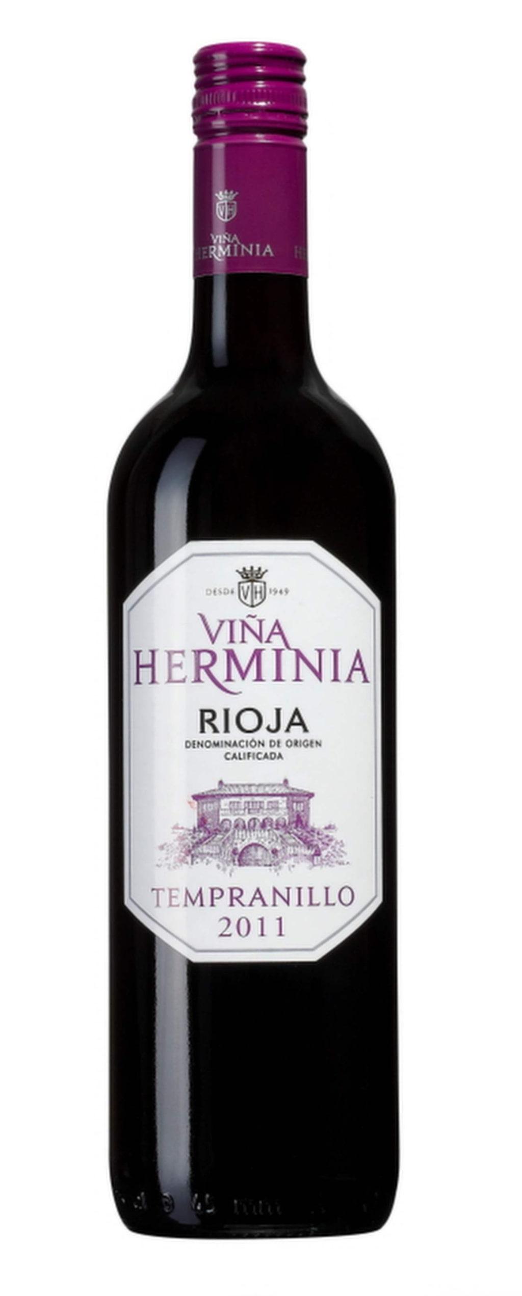 """<exp:icon type=""""wasp""""></exp:icon><exp:icon type=""""wasp""""></exp:icon><exp:icon type=""""wasp""""></exp:icon><br>Rött<br><strong>Vina Herminia 2013 (12615) Spanien, 79 kr</strong><br>Riojavin i mjuk, saftig stil med toner av mörka bär och lite vanilj. Passar bra tillsammans med enchiladas med kyckling och grillad paprika."""