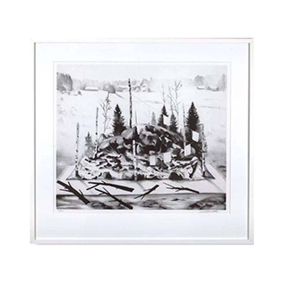 Motivet Mina fienders nederlag av Daniel Grunditz finns nu i LEVA&BO:s konstgalleri. Klicka enkelt på plustecknet i bilden för att handla.