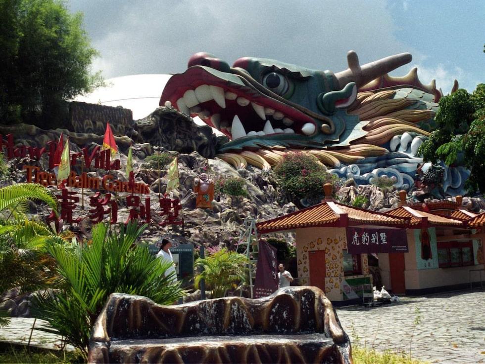 Haw Par Villa, Singapore. En 78 år gammal nöjespark som är motsatsen till Disneyland.