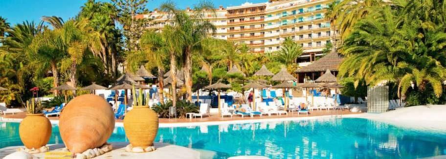 Hotell Tamarindos, kasinot i San Augustin på Gran Canaria, där Catharina bodde när hon stötte på pokerspelaren Magnus.