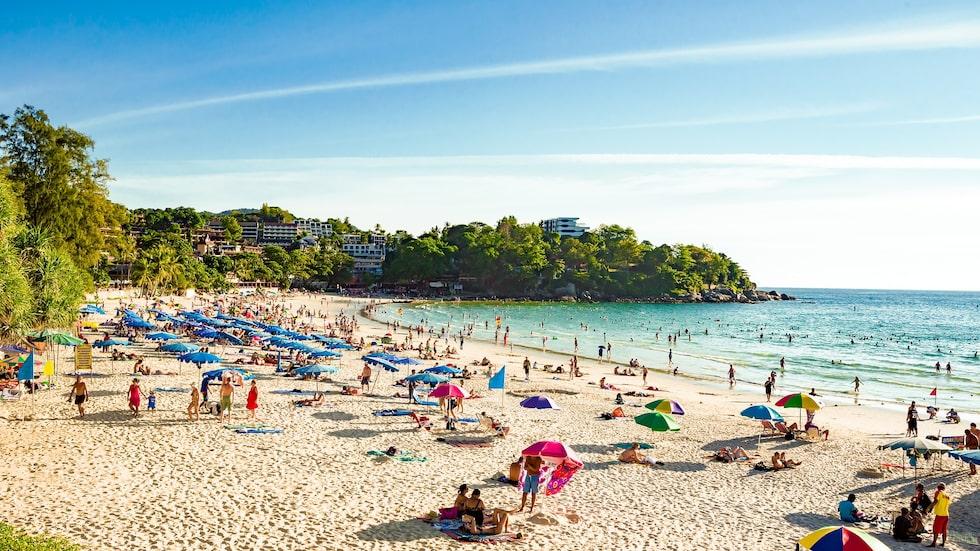 Populära Kata Beach, Phuket