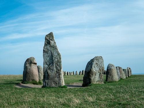 Ales stenar är en av Europas vackraste fornlämningar.